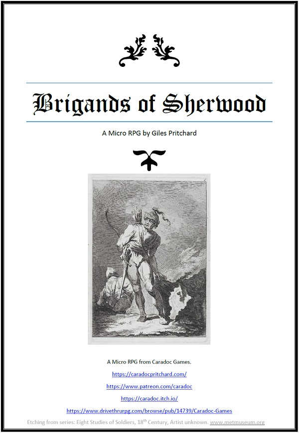 Brigands of Sherwood RPG
